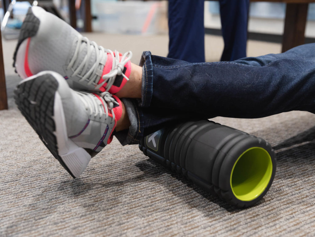 foam roller for shin splints and plantar fasciitis