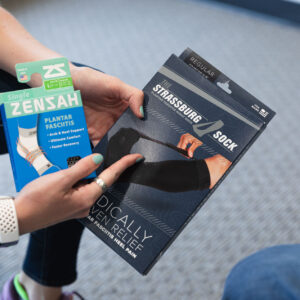 plantar fasciitis products available at the running well store in kansas city