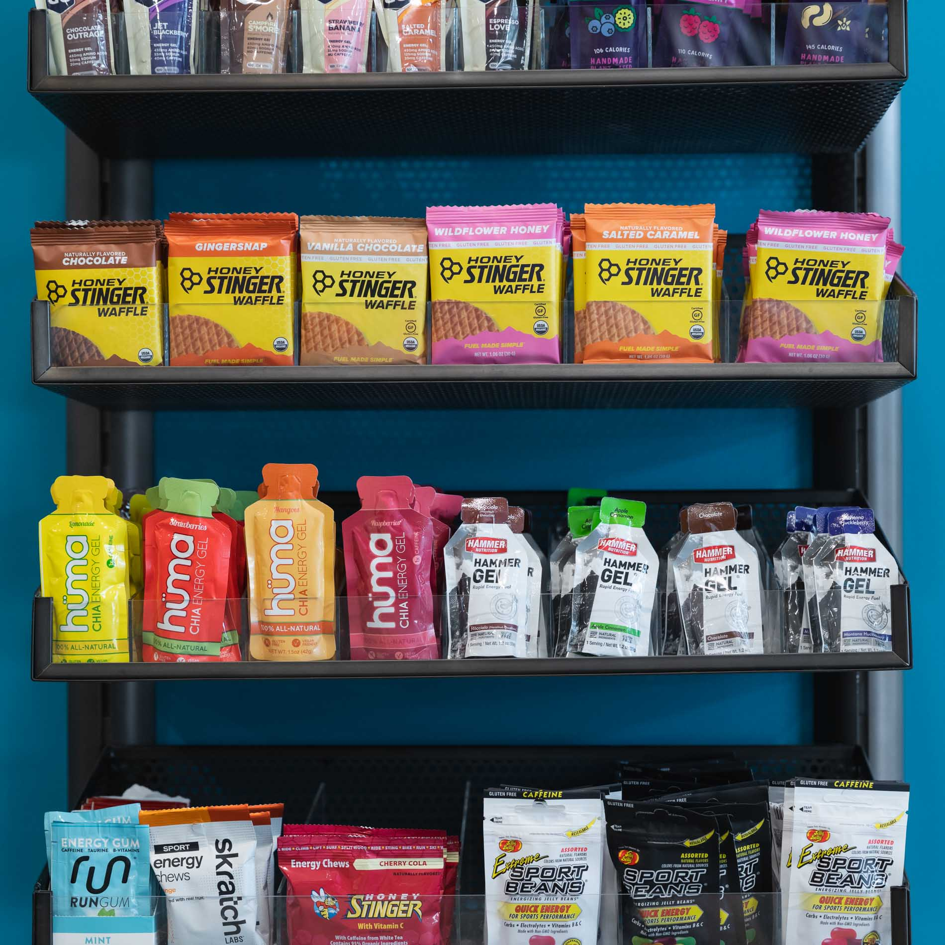 nutrition products at the running well store in kansas city