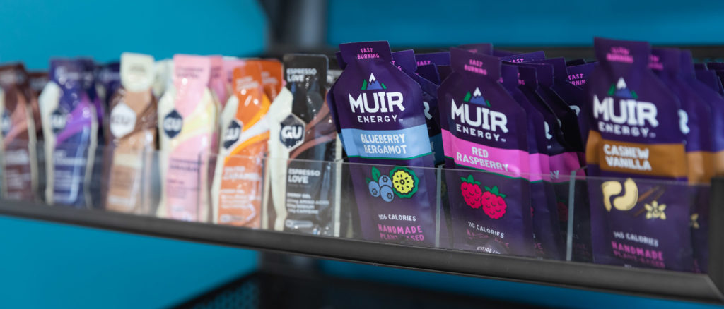 running well store offers additional products such as recovery and nutrition