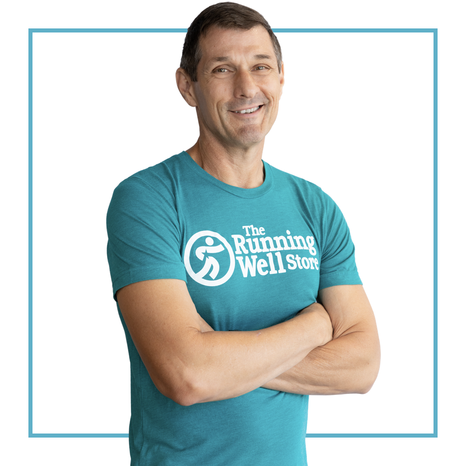 example of a fitness GURU from the running well store in kansas city, with a cut out background
