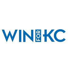 win for KC logo