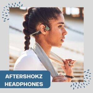Aftershokz headphones allow you to hear cars while jamming to music