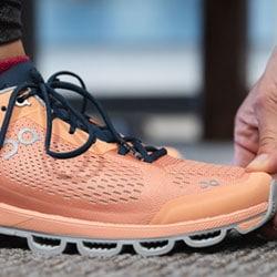 On Running Shoe Close Up