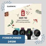 Garmin 245 will make any runner's face light up on Christmas morning.