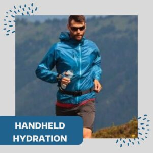 Handheld hydration for runners